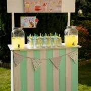 bar à limonade - set vichy