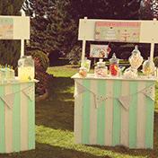 Location de décoration mariage vintage