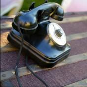 location de décoration téléphone vintage