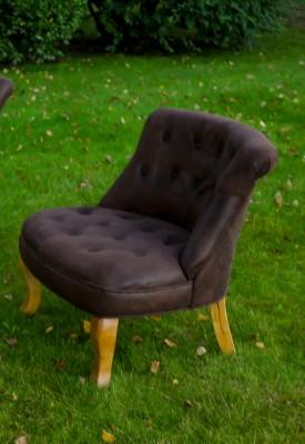 les 2 fauteuils crapauds