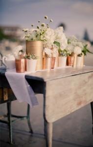 centre de table vintage n°2 - mariage vintage