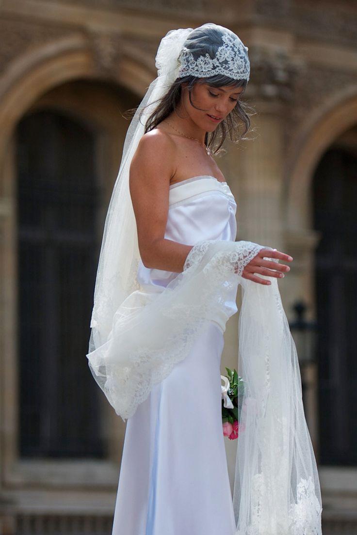 voile de mariée vintage