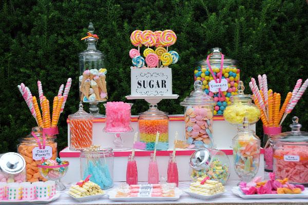 candy bar, bar à bonbons