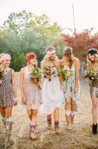mariage-vintage- dress-code-bohème