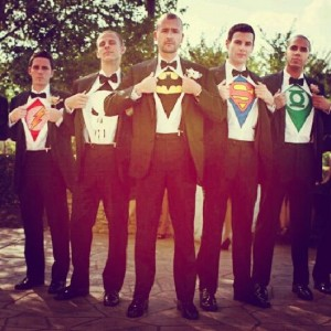 mariage vintage- dress code- super-heros