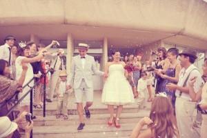 mariage vintage-guingette-mairie