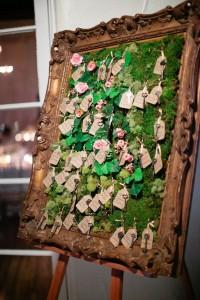 mariage vintage-plan de table champetre