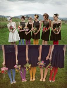 mariage vintage-rainbow-look