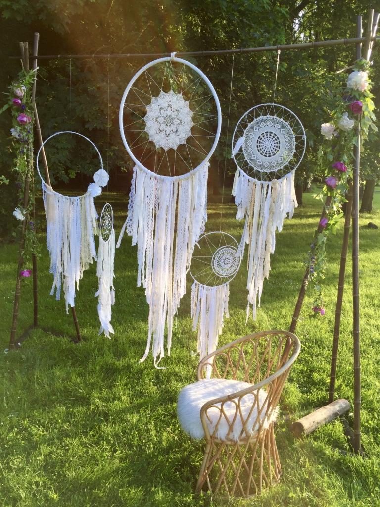 Attrape reve mariage vintage Photo de decoration