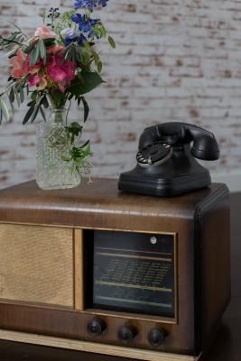 radio vintage-deco mariage