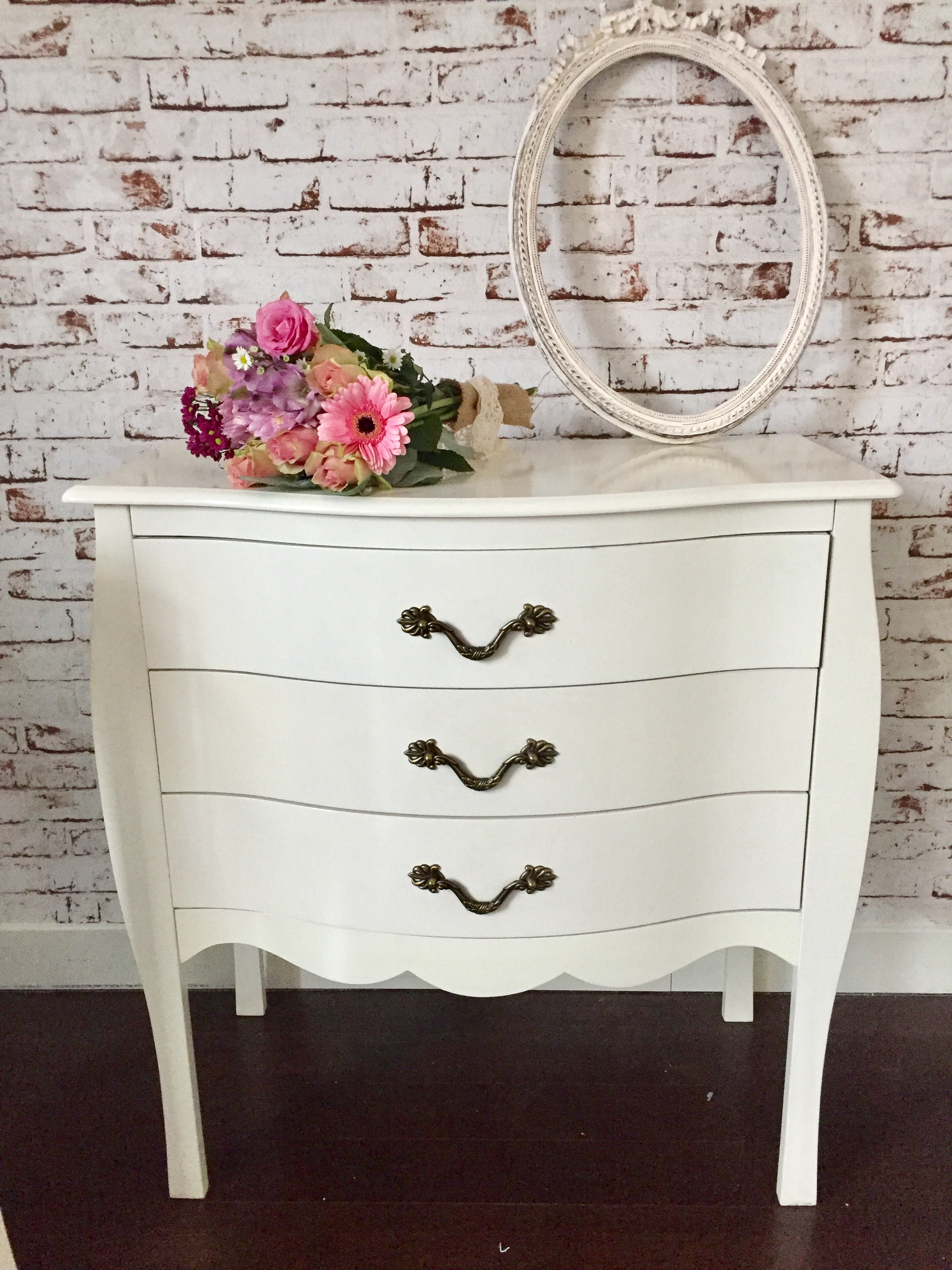 Le package commode baroque mariage vintage - Grande commode baroque ...