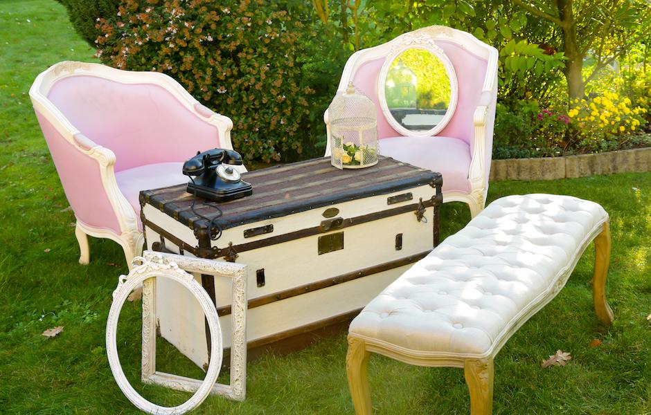 le salon shabby. Black Bedroom Furniture Sets. Home Design Ideas
