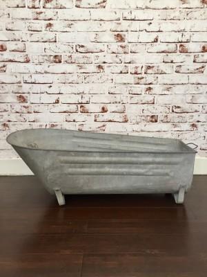 baignoire en zinc