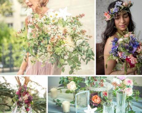 package floral_mariage vintage