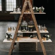echelle-decorative-mariage-vintage